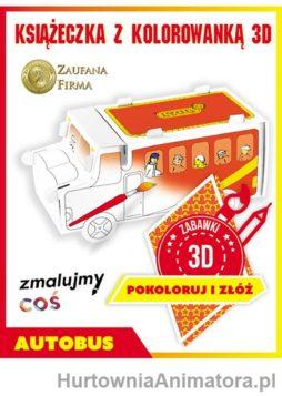 autobus_kolorowanka_3d_hurtownia_animatora_pl