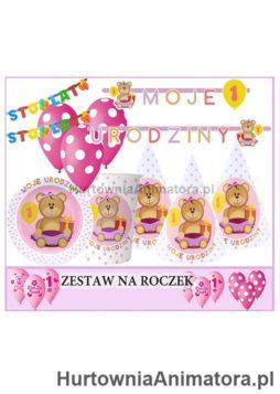 Zestaw_na_Roczek_rozowy_hurtownia_animatora_pl