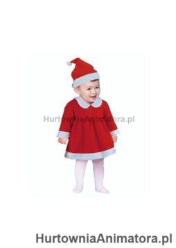stroj-mala-mikolajka-czapka-sukienka-6-12-mi_hurtownia_animatora_pl