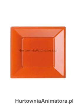 talerze-bbs-plastikowe-kolor-pomaranczowy-kwadrat_hurtownia_animatora_pl