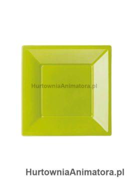 talerze-bbs-plastikowe-kolor-zielony-kwadratowe_hurtownia_animatora_pl