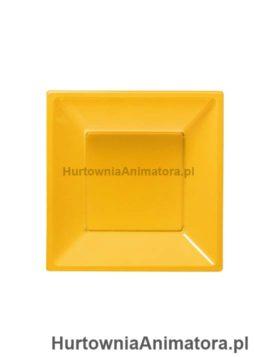 talerze-bbs-plastikowe-kolor-zolty-kwadratowe-hurtownia_animatora_pl