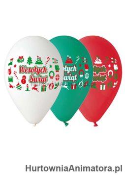 balony_wesolych_swiat_hurtowniaanimatora_pl