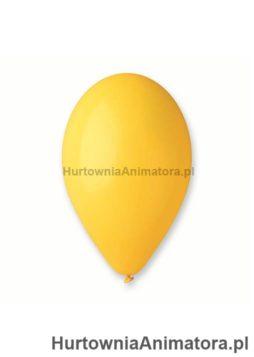 balony_zolte_10_szt_hurtownia_animatora_pl