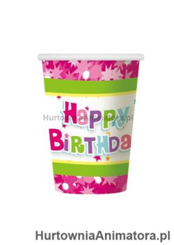 kubeczki-papierowe-happy-birthday-rozowe-hurtownia_animatora_pl