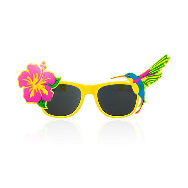 Okulary Hawajska Miss żółte