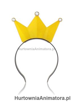 swiecaca-korona-zolta_hurtownia_animatora_pl