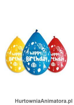 Balony_Urodzinowe_Happy_Birthday_party_5_szt_12_wiszące__HurtowniaAnimatora_pl