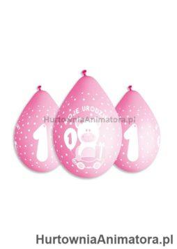 Balony_cyfra_1_Moje_1_Urodziny_dla_dziewczynki_wiszace_HurtowniaAnimatora_pl