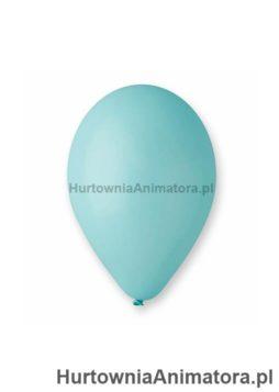 Balony_pastelowe_turkusowo-niebieskie_G90_10_100_szt_HurtowniaAnimatora_pl