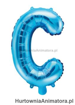 balon-foliowy-litera-C-niebieski_HurtowniaAnimatora_pl