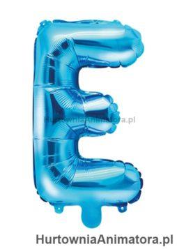 balon-foliowy-litera-E-niebieski_HurtowniaAnimatora_pl