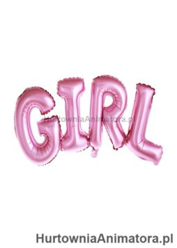 balon-foliowy-napis-girl-ciemnyroz_HurtowniaAnimatora_pl