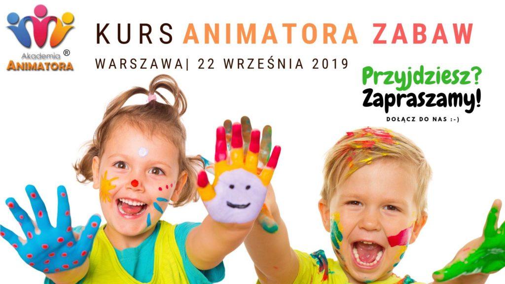 Kurs Animatora Warszawa