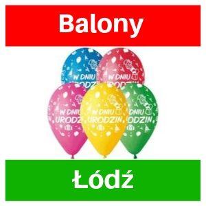 Balony Łódź