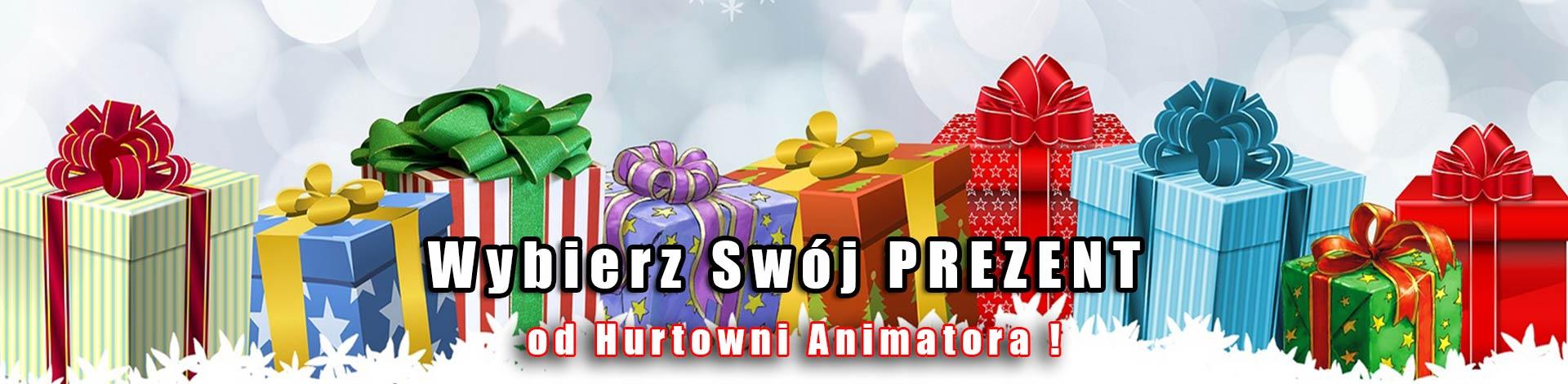 Prezent od Hurtowni Animatora !
